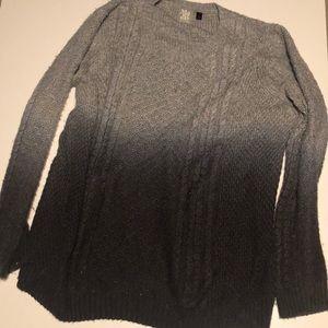Topshop maternity  Ombré Sweater Size 12
